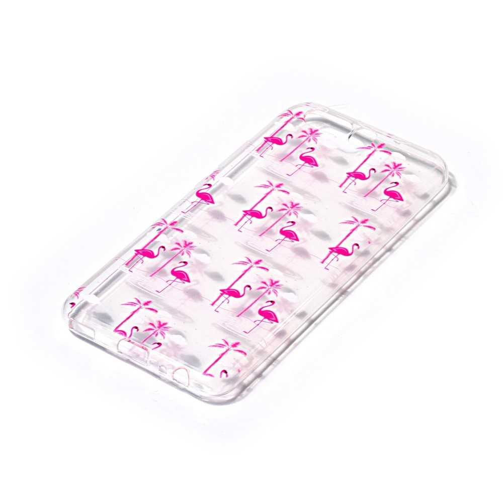 Housse Samsung Galaxy S7 Flamants Roses
